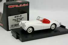 Brumm 1/43 - Jaguar XK120 Spider 1948 Blanche