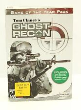 Tom Clancy's Ghost Recon: Amazing Vintage Game of the Year Pack (PC, 2002)