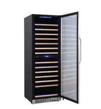 EdgeStar Wine Cooler w/ Interior Lighting Built-In Or Free Standing Dual Zone