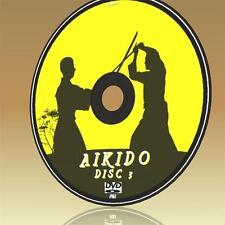 YOSHINKAN AIKIDO TRAINING DVD VOL 3 EASY TO FOLLOW 3 HOUR VIDEO TUTORIAL NEW DVD