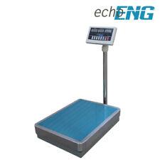 Bilancia piattaforma terra elettronica industriale pesapacchi contapezzi 300 kg