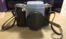 Pentacon Six TL medium SLR camera + Leather case-  Vintage - Made in GDR - Read