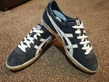 ASICS ONITSUKA TIGER SUEDE BLUE TRAINERS SIZE 9