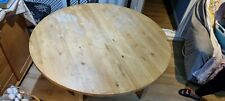 Solid Oak Wood Extending Dining table - used