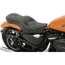 Drag Specialties Pillow Low-Profile Double Bucket Seat '10-'16 Harley Sportster