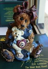 "BOYDS COLLECTION ""MOMMA MCBEAR & CALEDONIA""  227711 NEW AND MINT IN BOX"