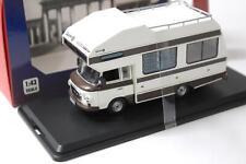 1:43 IST Models Barkas B1000 Wohnmobil 1973 white/ brown