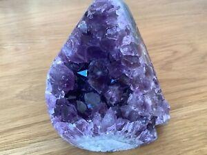 Beautiful Amethyst Crystal Cluster Specimen 663g Healing,