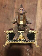 New ListingSan Francisco Music Box Co. Phantom of The Opera Monkey Figurine Music Box 1986