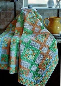 Interwoven Quilt Pattern Pieced BP