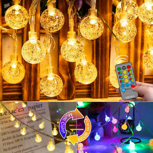 2 in 1 LED Globes Fairy Lights Party Garden Christmas Outdoor Wedding Home Decor