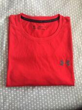 Under Armour Men`s Threadborne Short Sleeve T Shirt (Red ,Xxl)