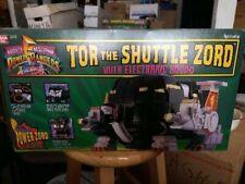 NEW Unopened 1994 Mighty Morphin Power Rangers Tor Shuttle Zord (2242)