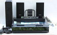 SONY BDV-E500W BLU-RAY DISC DVD HOME THEATER SYSTEM S-Air Wireless Rear +extras!