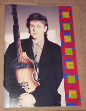 PAUL McCARTNEY WORLD TOUR IN JAPAN SOUVENIR PROGRAMME 1990 (Japanese Text)