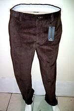 34 Waist Pants ZANELLA Luxury Corduroy Velvet  Winter  Trousers Made in Italy