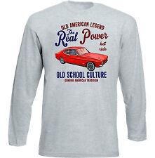 Vintage American Car Ford Capri MK2-Nuevo Algodón Camiseta