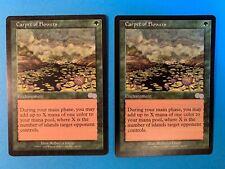 MTG: Magic the Gathering Urza's Saga Enchantment Carpet of Flowers x 2 NM+