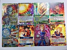 Dragon Ball Super TCG FOIL Leader Set Son Goku Gotenks Frieza Vegeta DRAFT BOX