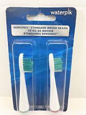 Waterpik Sensonic Standard Replacement Brush Heads 2SRB-2W 2 Pack