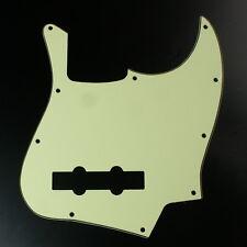 (A48) Custom Guitar Pickguard For Jazz Bass JB 4 String style ,3Ply Mint Green