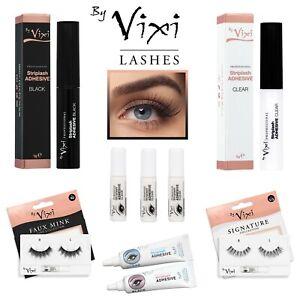 By Vixi Strong Lash Glue 💖 Clear / Black 💖1g 5g 7g Eyelash Adhesive with Brush