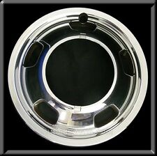 "2007 2008 Dodge Ram Truck 3500 Front 17"" Chrome Hubcaps, Wheel Simulator Dually"