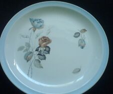 ALFRED MEAKIN GLO- WHITE Sapphire Rose 8 inch Plate  x 1 (3 available)