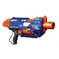 Blaze Storm B/O Soft Bullet Gun Toy with 20 Pieces Nerf Foam Bullets Air gun