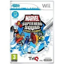 Nintendo Wii Game Marvel Super Hero Squad Comic Combat (uDraw Required) NEW