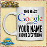 PERSONALISED TEXT PHOTO MUG Fathers Mothers Christmas Birthday Day MUM DAD GIFT