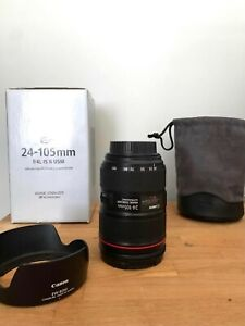 Immaculate Canon 24-105mm f4 ii Lens