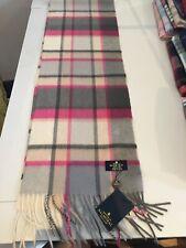 Tartan Acrylic Fabric Shawl In Town Scarf 563912