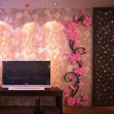 DIY Wall Sticker Decal Mural Home&Room Decor 3D Flower Removable Vinyl Quote