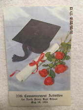 1984 Program from North Posey High School Commencement Activities Poseyville IN