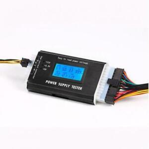 Digital LCD PC Power Supply Tester ATX 20/24pin SATA/IDE Measuring Diagnostic