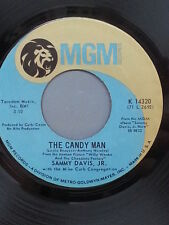 """SAMMY DAVIS JR. 45 RPM """"The Candy Man"""" & """"I Want to be Happy"""" VG condition"""