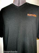 Jagermeister V-neck Embroidered T-shirt Liquor Shirt XL
