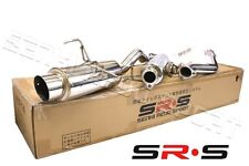 SRS Full T-304 Stainless Steel CATBACK Exhaust System 02 03 04 05 06 Rsx NON S