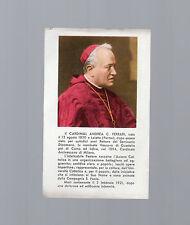santino pregiera alla santissima trinita' cardinale ferrari del 1950