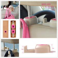 Car Back Seat Headrest Hanger Bag Coat Grocery Pink Holder Hooks For Honda Acura