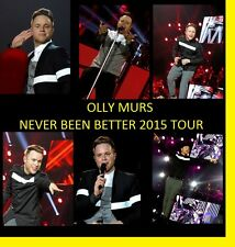 OLLY MURS NEVER BEEN BETTER  2015 CONCERT 1200 PHOTOS CD LIVE TOUR SET  1+2
