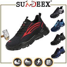 SUADEEX Arbeitsschuhe Sicherheitsschuhe Sneaker Stahlkappe Rutschfest S3 unisex