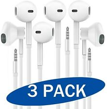 Headphones with Microphone, Certified XPOWER in-Ear 3.5mm Noise Isolating Ear...