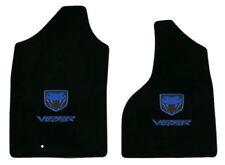 LLOYD Velourtex™ FLOOR MATS 2004-06 Dodge Ram 1500 SRT-10 TRUCK Blue Viper logos