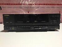 Fisher Studio Standard Dual Cassette Tape Deck CR-W686 Serviced & Tested