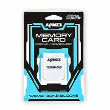 KMD 128 MB 2043 Blocks Memory Card For Nintendo Wii And GameCube System