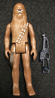 Vintage Star Wars Chewbacca Complete Action Figure 1977 Hong Kong Kenner Nice