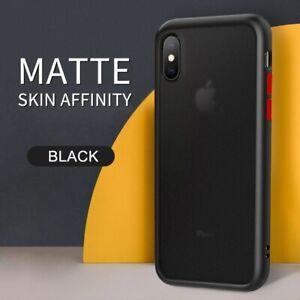 SLIM Matte Clear Bumper TPU Ultra Thin Case Cover For iPhone XS Max X/XS XR