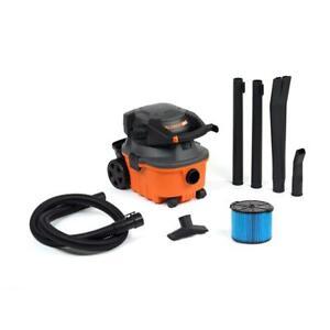 RIDGID Wet Dry Vacuum 120-Volt Detachable Blower Cartridge Filter Cord 4-Gal.